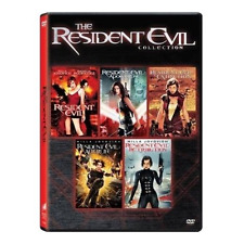 Resident Evil: Complete Milla Jovovich Moives Series 1 2 3 4 5 Box/DVD Set NEW!
