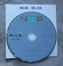 NEW Genuine NCIS Season 9 Disc 4 Replacement DVD, free shipping!