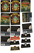 Lot of 16 Woodinville Washington Micro Craft Beer labels Nor Wester Bahwak Necks
