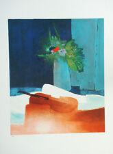 """GAVEAU Claude """"Etude pour violon"""" Lithographie signée et numérotée"""