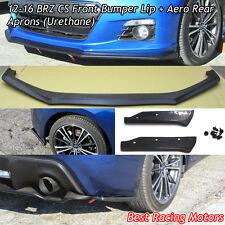12-16 BRZ CS Front Bumper Lip + Aero Rear Aprons (Urethane)