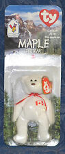 "Ty Beanie Baby ""MAPLE"", Bear !!CANADA EXCLUSIVE!! 1999,  RETIRED, New, Sealed"