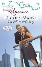 VG, The Billionaire's Baby (Harlequin Romance), Marsh, Nicola, 0373175876, Book