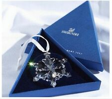 2012 Swarovski~Snowflake STAR Annual Christmas ORNAMENT ~NIB ~Triangle box
