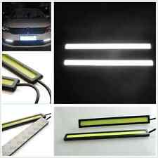 2 x White COB LED 14cm Waterproof Car SUV Daytime Running Lamp Driving Fog Light