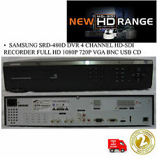 SAMSUNG SRD-480D 4 CHANNEL HD-SDi HYBRID DVR FULL HD 1TB 1080P REALTIME RECORDER