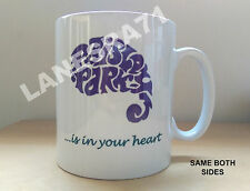 PRINCE Paisley Park Studio UNIQUE LOGO ART DESIGN White Coffee Mug *NEW*