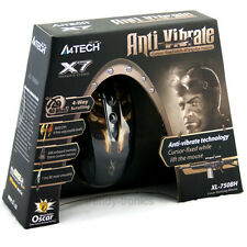 A4 Tech Xl-750bh Laser Gaming 7080fps 6 botón anti-vibrate 3600dpi Mouse Para Pc