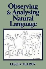 Observing and Analysing Natural Language: A Critical Account of Sociolinguistic