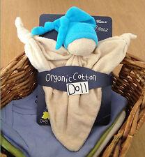 KEPTIN JR coton biologique jouet zmooz Consolateur couverture doll grand-bleu 18.32.5