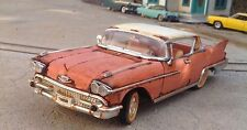 "Autoart,1958 Cadillac eldorado barn find,""junkyard"" weathered w/rust,1/18,scale"