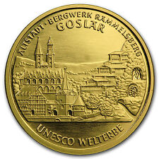 2008 Germany 1/2 oz Gold 100 Euro Goslar BU - SKU #68043