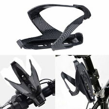 Carbon Fiber Water Drink Bottle Rack Holder Bracket Cage for Bicycle MTB Bike