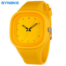 Girl & Boy Rubber Watch Waterproof Analog Quartz Band New Wrist Watches