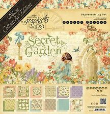 PREORDER Graphic 45 Secret Garden Deluxe Collector's Edition