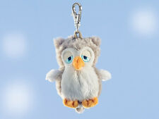 Rudolf Schaffer Elli Owl Key Ring - SC208 White & Grey, Metal & Plush