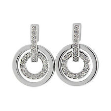 Swarovski Circle Pierced Earrings 5007750