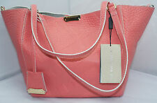 Burberry Leather Bag Grain Check Smll Canterbury Handbag Shoulder Tote NWT