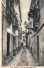 SPAIN - Sevilla - Barrio de Santa Cruz 1937