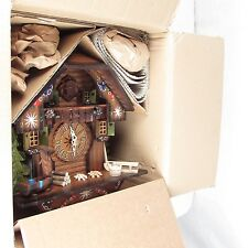 New Hekas Schwarzwalder Black Forest Chalet Cuckoo Clock