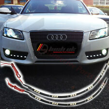 2 x 30CM LED Strips DRL Daytime Running Lights Flexible Universal 5050 15 SMD