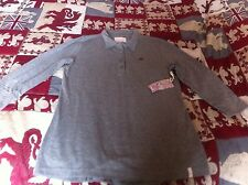 Ladies 3/4 Sleeve Top Grey With Colour Flecks Quiksilver Size X/S  New With Tag