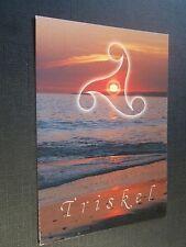 CPM Triskel Symbole des trois forces de la nature, la terre- l'eau - le feu