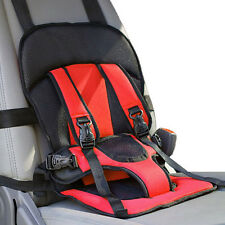 Adjustable Portable Baby Child Infant Car Seat Safety Belt Harness Red