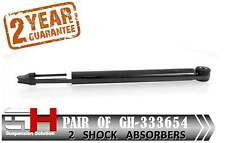 2 NEW REAR GAS SHOCK ABSORBERS FOR OPEL ASTRA J 12.2009-  ///GH 333654///