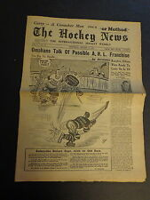 The Hockey News August 15, 1951 Vol.4 No.34 Dickie Moore, Chuck Conacher Aug '51