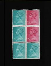 PANE X842 1/2p MACHIN ex WEDGWOOD BOOKLET  DX1  STAMP  TRIMMED U/M