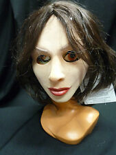 Realistic Latex Sex Doll Mask , Female with Dark Hair