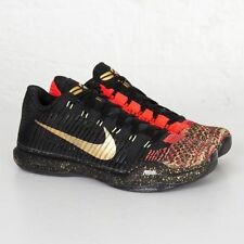 Nike Kobe 10 X Elite Low Xmas Christmas 5 Rings sz 7.5. 802560-076. ext bhm 11