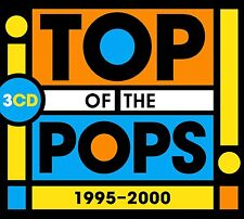 TOP OF THE POPS 1995-2000 3CD SET - VARIOUS ARTISTS (September 2nd 2016)