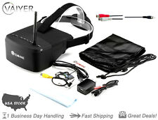 Eachine EV800 5 Inch 800 x 480 FPV Goggles 5.8G 40CH Raceband +Adapter By Vaiyer
