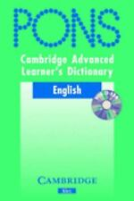 Cambridge Advanced Learner's Dictionary KLETT VERSION with CD-ROM by NA