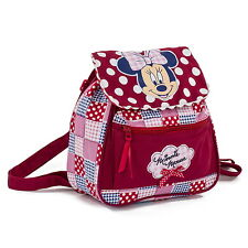 NEW OFFICIAL Minnie Mouse Girls Kids Disney Casual Backpack Rucksack School Bag