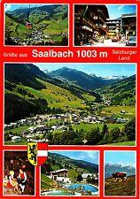 Saalbach , Ansichtskarte, 1982 gelaufen