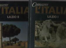 conoscere l italia - lazio 2 volumi - edizioni de agostini - aprsec