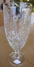 Godinger Shannon Crystal Etched Wheat Flower Stephanie Glass Multi Availailable