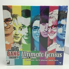 """The Big Bang Theory """"Ultimate Genius"""" Party Gamen New & Sealed"""