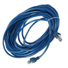 50FT RJ45 CAT5 CAT5E Ethernet Network Lan Router Patch Cable Cord Blue 15M DG