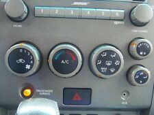 04 2004 NISSAN ARMADA HEATER AC A/C CLIMATE CONTROL PANEL FRONT 27500-7S010