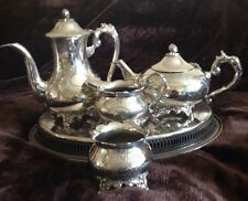 Gorham silverplate Tè Set