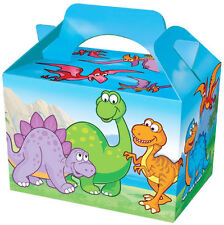 10 Dinosaur Party Boxes - Food Loot Lunch Cardboard Gift Kids