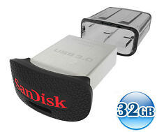 SANDISK CRUZER ULTRA FIT 32GB 32G USB 3.0 Flash Key Drive Memory Stick 130MB/s*