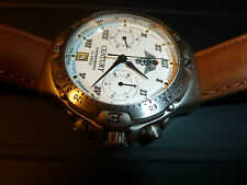 $700 NEW CENTURY Watch Russia 3133 Chronograph Poljot White Mechanical Military