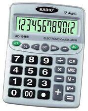 Calcolatrice Elettronica Digitale KD-1048B 12 Cifre Scuola Ufficio hsb