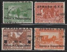 Jugoslawien , Yugoslavia , Bosnien SHS , 1918 , ERROR - verschoben Auf. hinge*/c