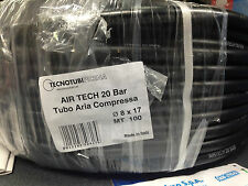 TUBO ARIA COMPRESSA Ø 8 X 17 MM   20 BAR  1 MT € 1,85 ARIA COMPRESSA COMPRESSORE